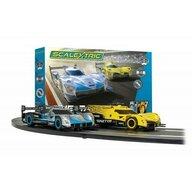 Scalextric - Pista de masini Ginetta Racers Cu masinute, Traseu 484 cm