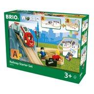 BRIO - Set Sine de tren , Pentru incepatori