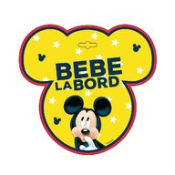 Seven - Semn auto Bebe la Bord Mickey Mouse