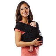Baby K'tan - Sistem purtare Baby Carrier Original Cotton, Basic Black, Marimea S