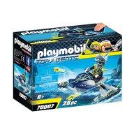 Playmobil - Skijetul echipei S.H.A.R.K.