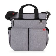 Skip Hop - Geanta de scutece Duo Signature, Heather grey
