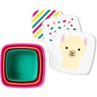 Skip Hop - Set 3 cutii Lama Pentru pranz Zoo