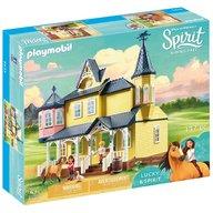Playmobil - Jucarie Spirit - Casa lui Lucky