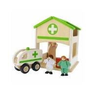 Masterkidz - Spital de jucarie, din lemn, +3 ani, , pentru gradinite