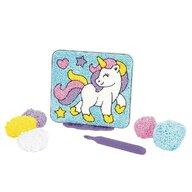 Educational Insights - Spuma de modelat Playfoam - Coloram unicornul