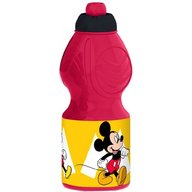 SunCity - Sticla apa plastic Mickey, Red