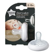 Tommee Tippee - Suzeta Closer To Nature, 1 buc, 6-18 luni