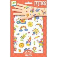 Djeco - Tatuaje pentru copii, Cute