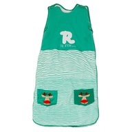 The Dream Bag - Sac de dormit Green Reindeer 0-6 luni 2.5 Tog