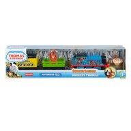 Mattel - Locomotiva Safari Monkey Thomas , Thomas and Friends , Motorizata