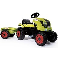 Smoby - Tractor cu pedale si remorca Claas Farmer XL