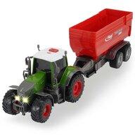 Dickie Toys - Tractor  Fendt 939 Vario cu remorca 41 cm