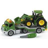 Klein - Trailer cu tractor John Deere