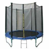 KidsCare - Trambulina Cu plasa de protectie, Cu scara, 305 cm