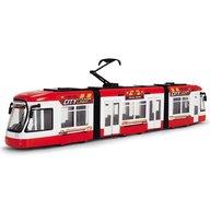 Dickie Toys - Tramvai City Liner, Rosu
