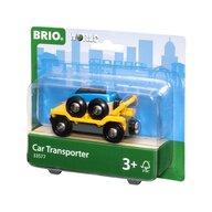 BRIO - Vehicul de lemn Transportator masini