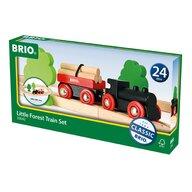 BRIO - Tren din lemn Forestier