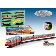 Pequetren - Trenulet electric de calatori, Articulado, cu macaz