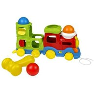 Winfun - Trenulet muzical cu bile si ciocan pentru copii