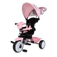 Lorelli - Tricicleta Mecanism de pedalare libera, Suport picioare, Control al directiei One, Roz
