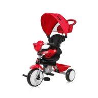 Lorelli - Tricicleta One Suport picioare, Control al directiei, Scaun reglabil, Rosu