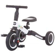 Chipolino - Tricicleta Smarty 2 in 1 Mecanism de pedalare libera, Alb