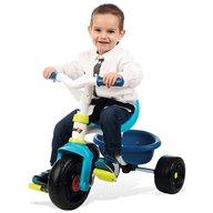 Smoby - Tricicleta Be Fun Mecanism de pedalare libera, Control al directiei, Albastru