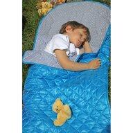 Tuloko - Sac de dormit pentru calatorii cu ursulet de plus inclus