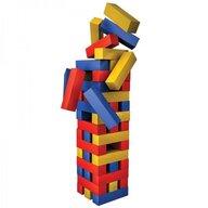 Spin Master - Joc de societate Turnul buclucas , In cutie de metal, Cu piese colorate, Multicolor