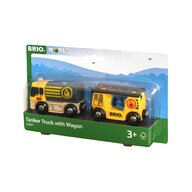 BRIO - Accesoriu Vagon cu cisterna