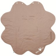 Wallaboo - Paturica floare Soft, Taupe