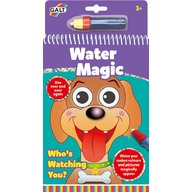 Galt - Carte de colorat Water Magic, Ghici cine-i acolo?