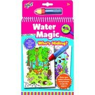 Galt - Carte de colorat Water Magic, Who's Hiding?