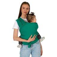 SeviBebe - Wrap elastic cu suport lombar verde