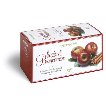 Ceai de mere cu scortisoara Regina di Fiori 15 pliculete *45g