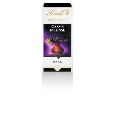 Ciocolata amaruie coacaze-migdale Lindt 100gr