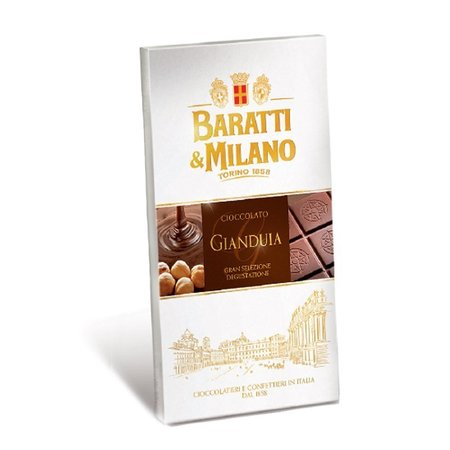 Ciocolata cu gianduja Baratti & Milano 75gr