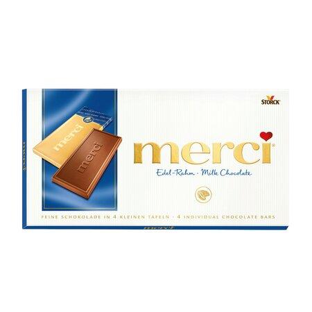 Ciocolata cu lapte Merci 100gr