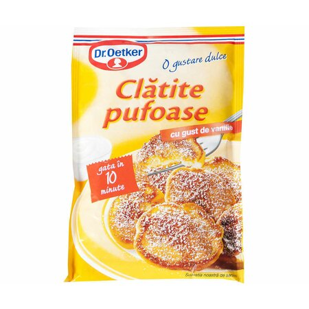 Clatite pufoase vanilie 150g