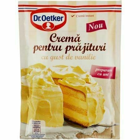 Crema vanilie cu unt 140g