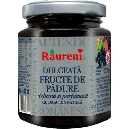 Dulceata fructe de padure Raureni 250gr