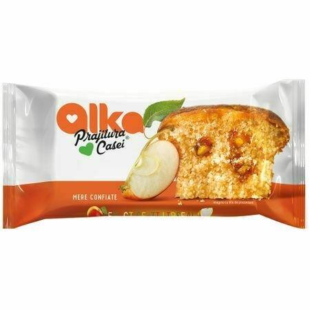 Prajitura casei cu mere confiate Alka 60g
