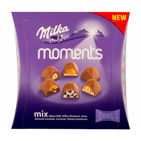 Praline Milka Moments asortate 169g