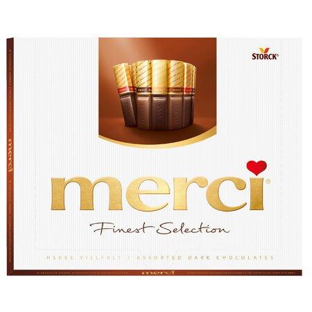 Specialitati de ciocolata amaruie asortata 250g Merci