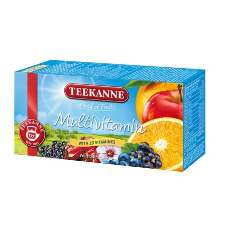 Teekanne - Ceai Multivitamin cutie 20 pliculeteX2.5g