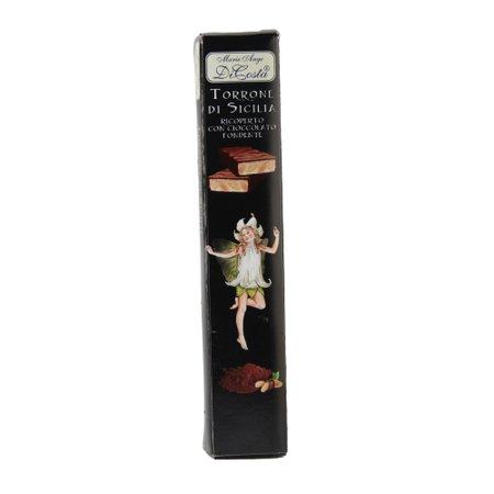 Torrone cu ciocolata neagra Di Costa 100gr