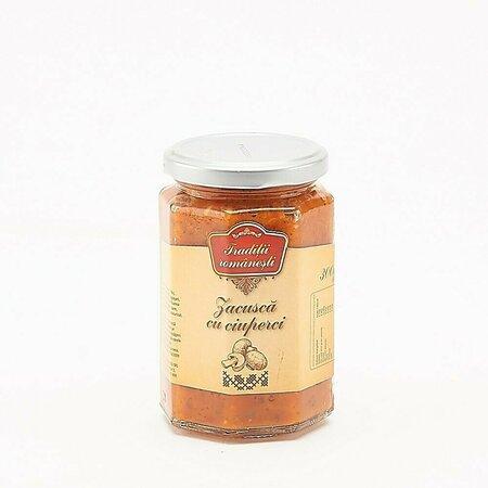 Zacusca cu ciuperci Traditii Romanesti 300g