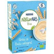 Cereale Nestle Naturnes Bio Grau si ovaz integral, 200g, 6 luni+