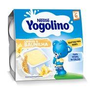 Gustare Nestle Yogolino Gris cu Lapte 4x100g, 6 luni+